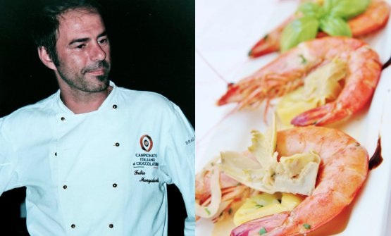 ChefFabio Mangialardi, protagonista con la sua c