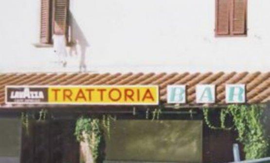 Una immagine d'archivio dell'indirizzo, quando era ancora una semplice trattoria