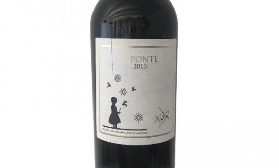 Il Ponte 2013, un Rosso Toscana Igt (100% Cabernet Sauvignon, 13,5% Vol.) prodotto da Luca Bracali per il suo ristorante