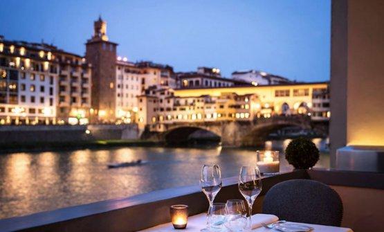Vista sull'Arno dal BSJ