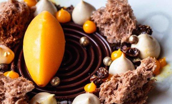 Cioccolato, nocciola e olivello spinoso, Novara