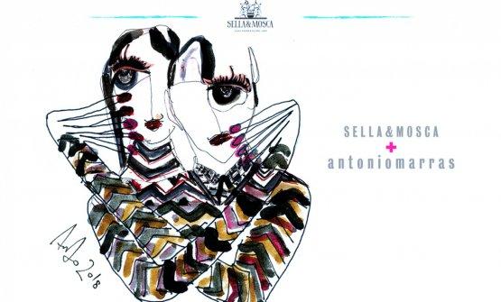 L'etichetta di Ambat disegnata da Antonio Marras