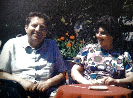 Bonaventura e Pasqualina Ferrara in una foto d'archivio