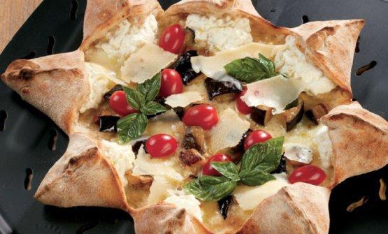 La pizza Rosa dei venti di Polzella
