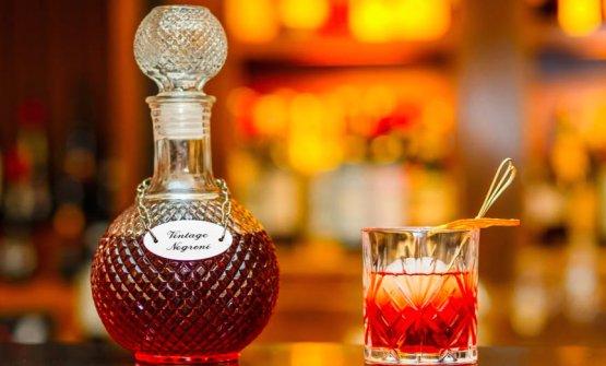 Negroni Vintage: Gin Beefeater, elisir di china, Antica Frmula Carpano