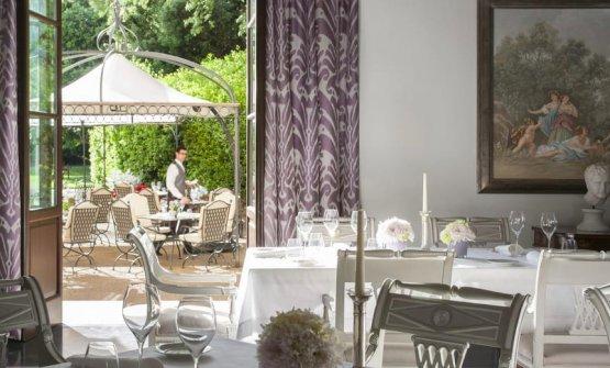 Il ristorante Palagio del Four Seasons, una stella Michelin con lo chef Vito Mollica