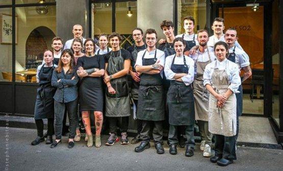 Neso's team (photoStephanie Biteau)