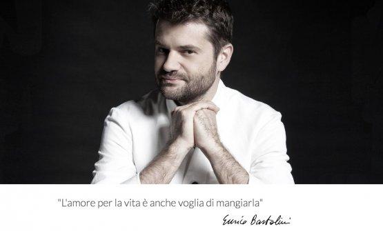 La schermata iniziale del sito di Enrico Bartolini