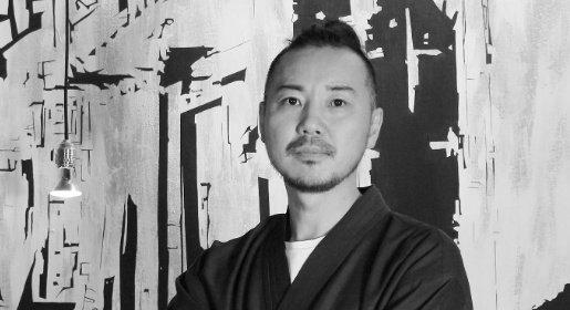 Lo chef Masaki Okada. Ha preso da poco il posto di Jun Giovannini