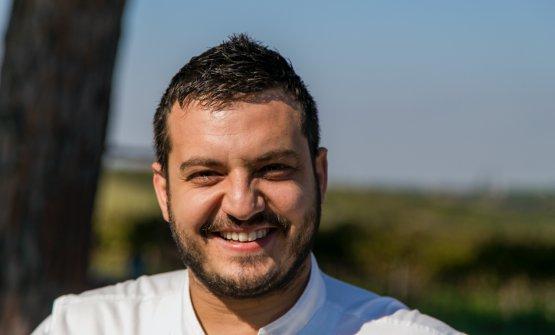 Lo chef Marco Claroni (ph Andrea Federici)