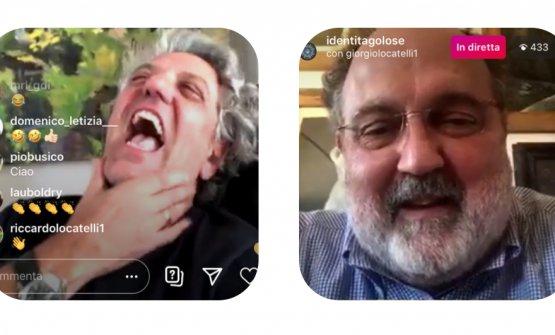 Giorgio Locatelli e Paolo Marchi
