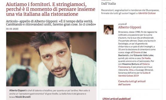 L'articolo citato, di Alberto Gipponi