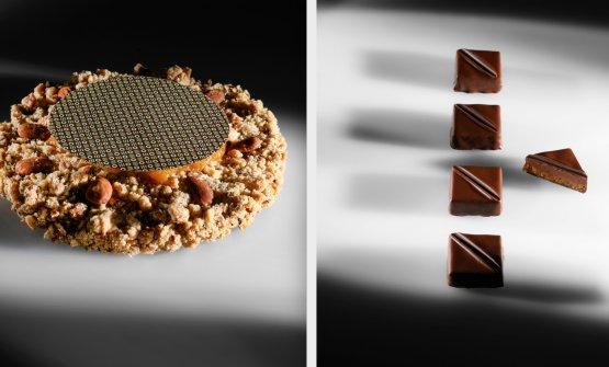 Torta Friabile e i Cioccolatini con chiodi di garofano, fichi e cioccolato Macaè(Brambilla/Serrani)