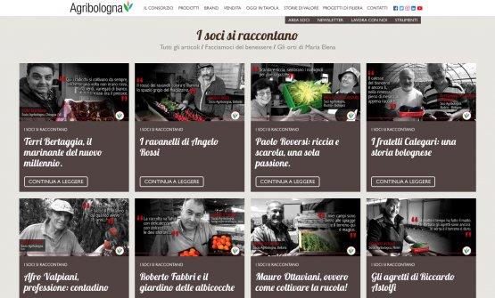 Intranet of Peoplesul sito di Agribologna