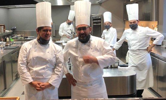 Alessandro Procopio e Wladimiro Nava, in cucina con Oldani dal 2003 e 2004