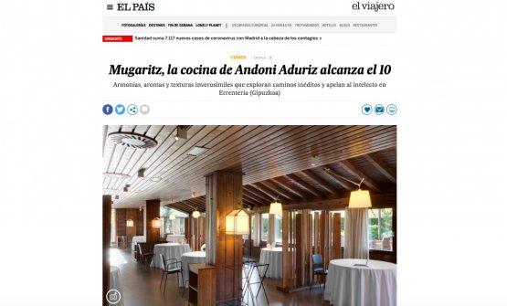 L'articolo di José Carlos Capel pubblicato sul quotidiano El País