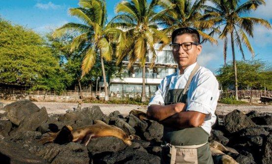 Marco Salamanca, chef at Muyu