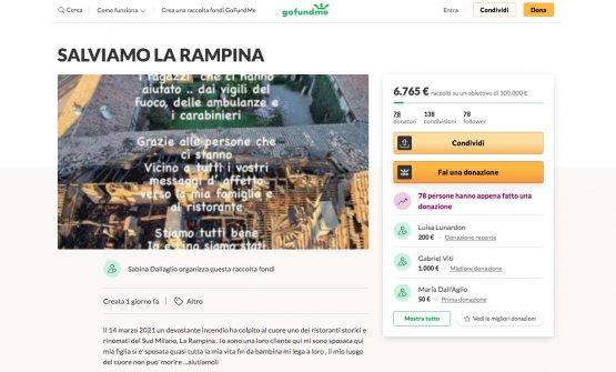 La raccolta fondi avviata online per dare un aiuto