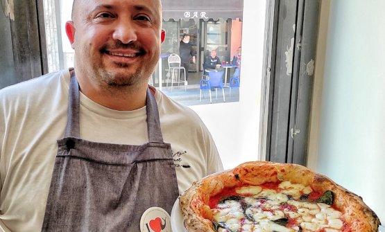 Luca Doro, maestro pizzaiolo della pizzeria Doro G