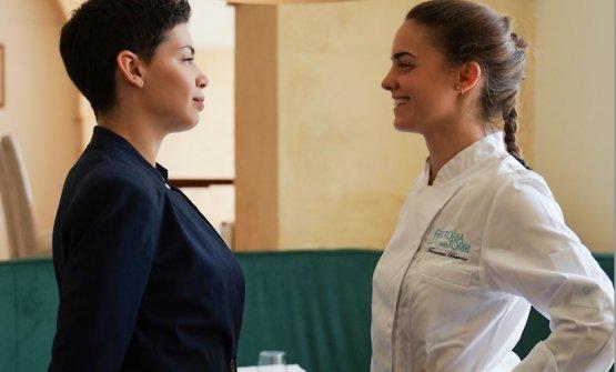 Carla e Francesca Barone, figlie dello chef Peppe