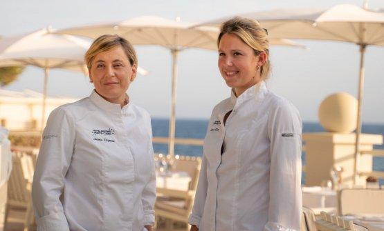 L'Alta cucina elegante, buona, eco-consapevole: Manon Fleury e Antonia Klugmann insieme al Monte-Carlo Beach