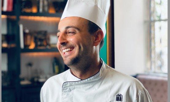 Gabriele Muro, chef del ristorante Adelaide del Vi
