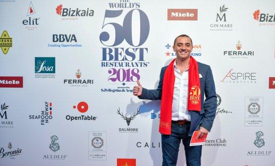 Royer ai World's 50 Best 2018