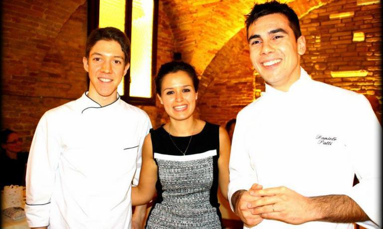 Matteo Ambrosini(cucina),Dunia Donini (sala) e