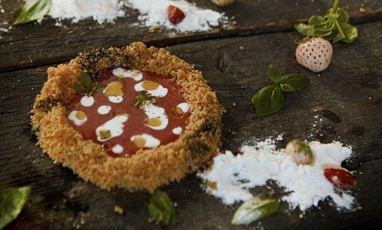 La dolce Margherita è la ricetta dell'estate diLuca Pedata, chef delCarlo e Camilla in Segheria di Milano. Le foto sono diSimone Manzo