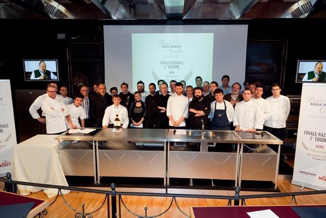 Nella seconda edizione, nel 2012, il vincitore della finale è stato Christian Milone della Trattoria Zappatori di Pinerolo (Torino), con un mini-menu composto dalla ricetta salata Le lumache e la birrae il dessert A tutta Birra