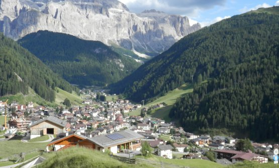 A view of Selva di val Gardena