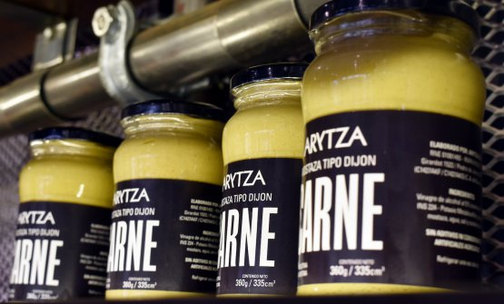 The artisanal Arytza mustard, from agroecological ingredients, made without artificial additives and preservatives