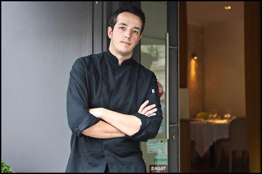 Sylvain Sendra, 37 anni, una stella Michelin, tre ristoranti. La sua carriera nella ristorazione � incominciata a 24 anni con il bistrot Le Temps au Temps