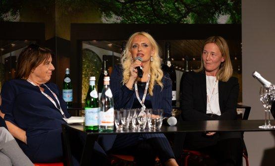 Laura Fratton, Dominga Cotarella e Mariella Organi