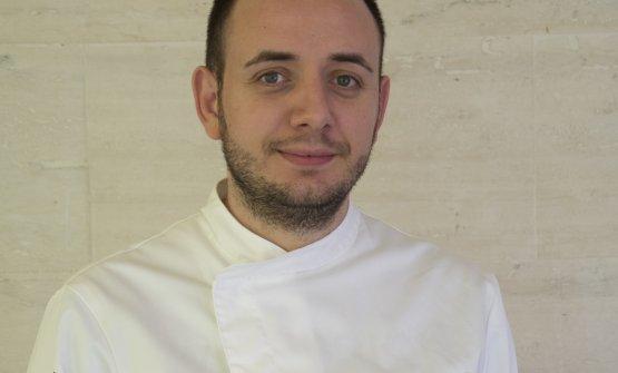 Lo chef Rizzo del ristorante Agorà