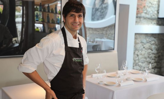 Sergio Bastard, classe 1979, chef dellaCasona del JudiodiSantander, Cantabria, Spagna