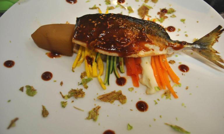 Il Godeungeo-mujorim è un piatto tradizionale del