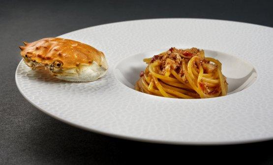 Spaghetti Shangai: il piatto del giovane chef cinese Chang Liu, alla guida del nuovo ristorante milanese Serica