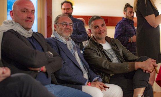 Tony Lo Coco, Pinuccio La Rosa, Marco Baglieri
