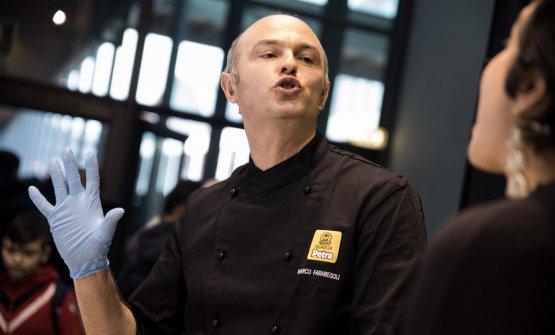 Marco Farabegoli, anima della pizzeria al taglio D