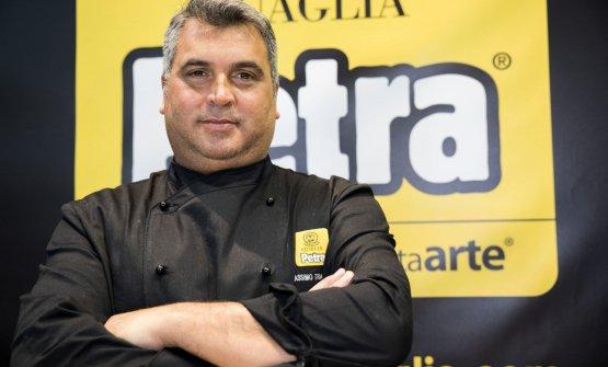 Massimo Travaglini, titolare diFokaccia - Italia cooking and lounge, aperto nel centro di Genova nel 2015