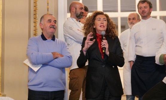 Fausto Fratti e Francesca Fabbri Fellini