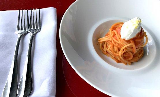 Gli Spaghetti al pomodoro di Elio Sironi al Ceresio7