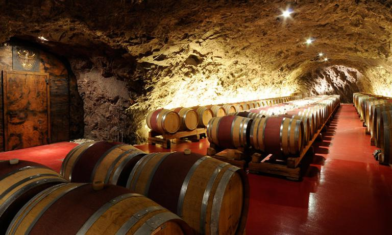 Winery's Landesweingut Laimburg barrique