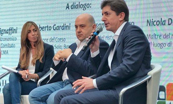 Da sinistra, Chiara Marando, Alessandro Pipero, Nicola Dell'Agnolo