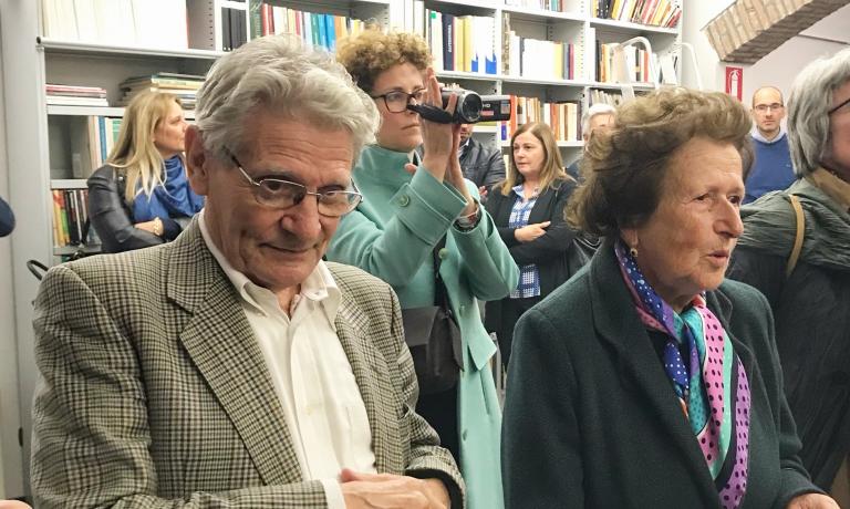 Marino Marini con Lucia Cavanna