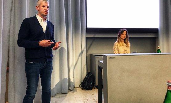 Valerio Perego e Claudia Magenes