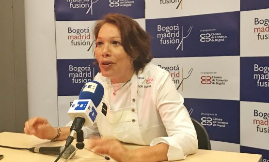 Leonor Espinosa, Colombian chef originally from Ca