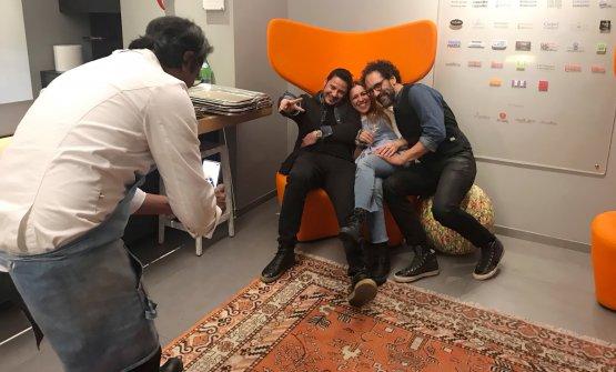 Sookar e Ricci con Fede e Tinto