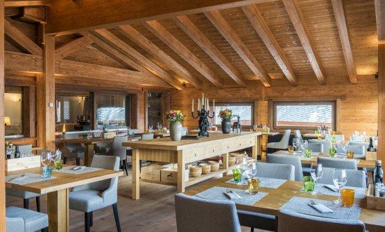 La sala del ristorante Snowlfake